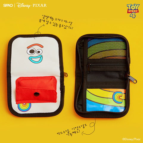 SPAO Unisex Toy Story Wallet SPAKA22A53 Light Grey