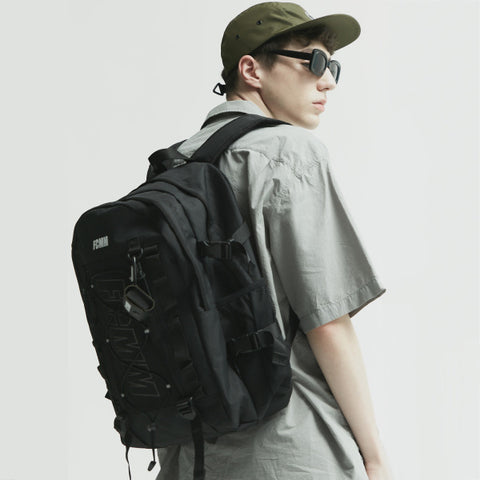 SPAO Unisex FCMM Molly System Backpack SPAKA48A03 Black