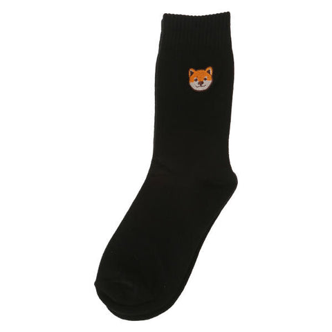 SPAO Unisex Animal Embroidery Crew Length Socks SPAYAA3D30