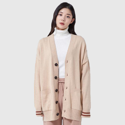SPAO Man Long Sleeve Cardigan SPCK949C03