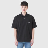 SPAO Men Short Sleeve Pocket Collar Tee SPHAA24C17