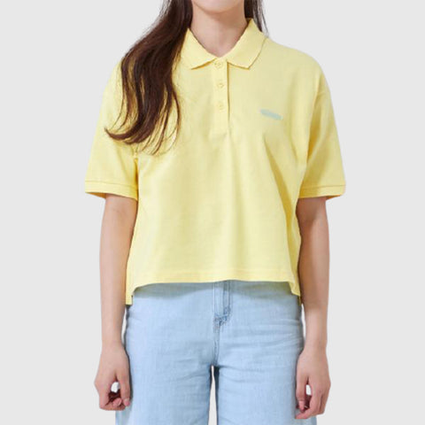 SPAO Women Short Sleeve Loose Collar Tee SPHAA25G34