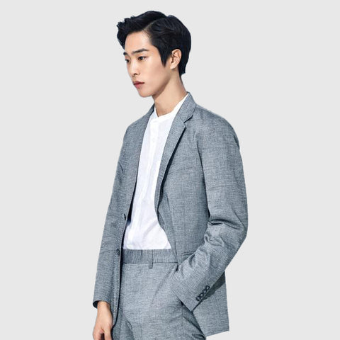SPAO Man Long Sleeve Casual Suit SPJK824M04