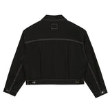 SPAO Women Long Sleeve Crop Trucker Jacket SPJKA23G31