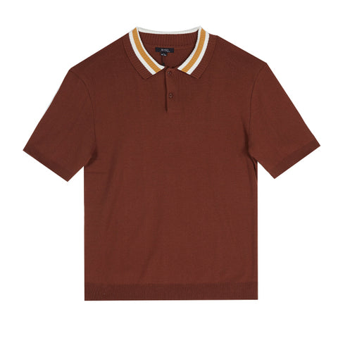 SPAO Men Short Sleeve Color Knit Polo SPKA925M24