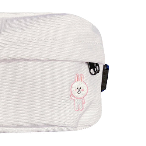 SPAO Unisex Line Friends Sling Bag SPLCA25A01 White