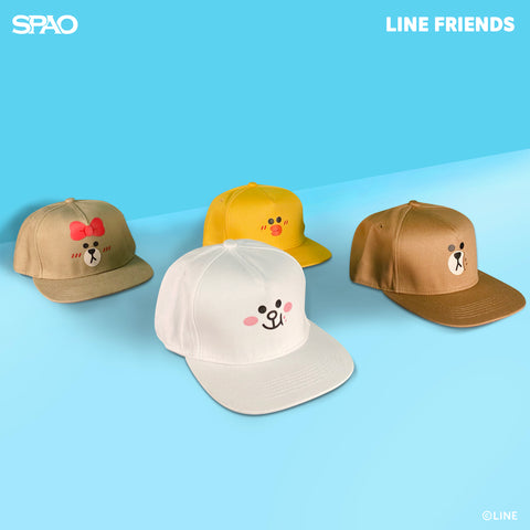 SPAO Unisex Line Friends Cap SPLCA25A04 Yellow
