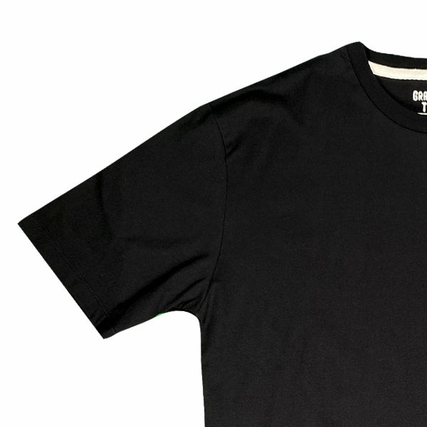 SPAO Unisex Short Sleeve Line Friends Pocket Tee SPLCA25C04 Black