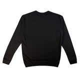 SPAO Unisex Long Sleeve Line Friends Pullover SPLCA25C08 Black