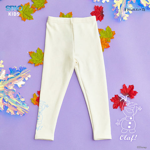 SPAO Kids Frozen Basic Leggings SPMAA11K02 Ivory