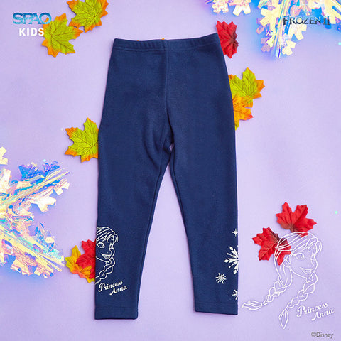 SPAO Kids Frozen Basic Leggings SPMAA11K02 Navy