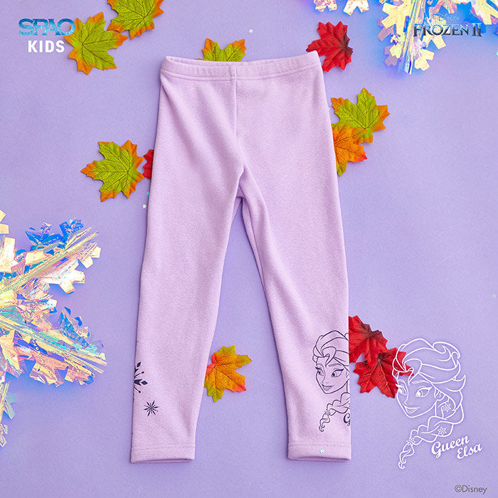 SPAO Kids Frozen Basic Leggings SPMAA11K02 Light Purple