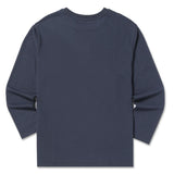 SPAO Unisex Long Sleeve Line Friends Pullover SPMB923D91 Navy