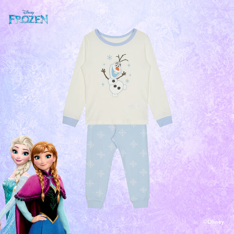 SPAO Kids Long Sleeve Frozen Pyjamas SPMBA11K01 Ivory