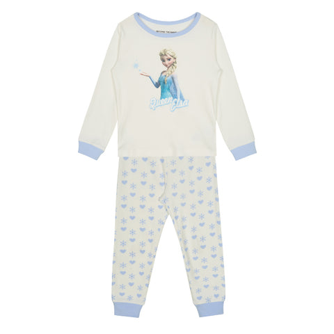 SPAO Kids Long Sleeve Frozen Pyjamas SPMBA11K01 Light Blue