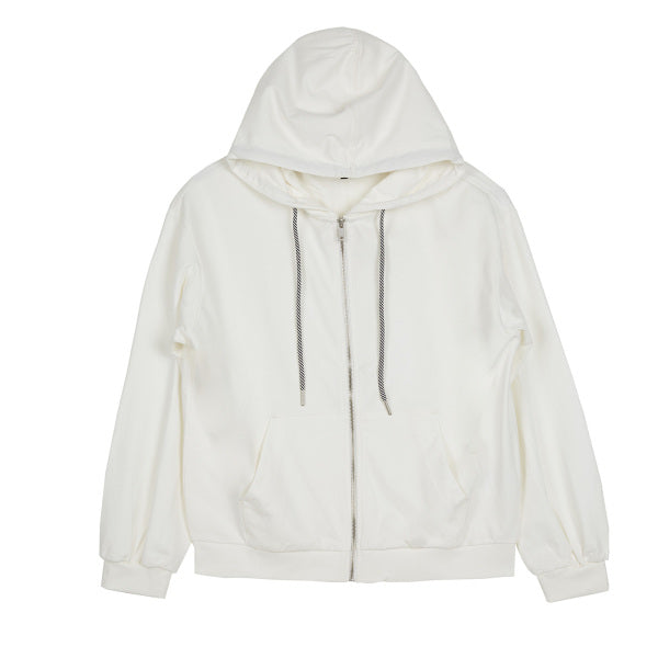 SPAO Women Long Sleeve Light Hood Zip Up Jacket SPMZ937G99