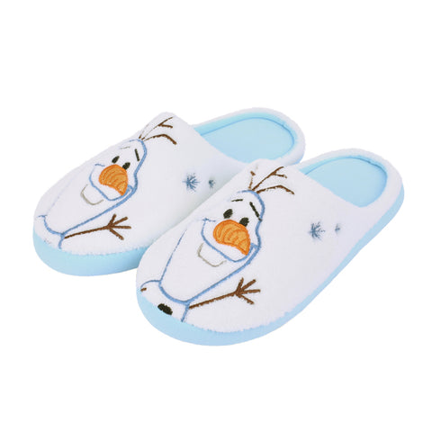 SPAO Unisex Frozen Olaf Room Shoes SPPJ94CA43 White