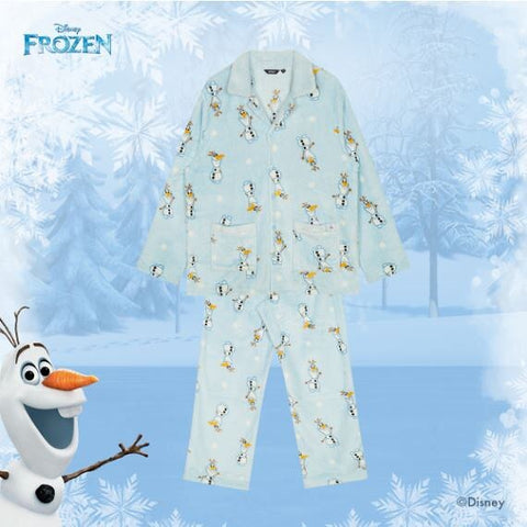 SPAO Unisex Long Sleeve Frozen Olaf Pyjamas SPPPA11C01 Blue