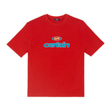 SPAO Men Short Sleeve Retro Letter Tee SPRP924C19