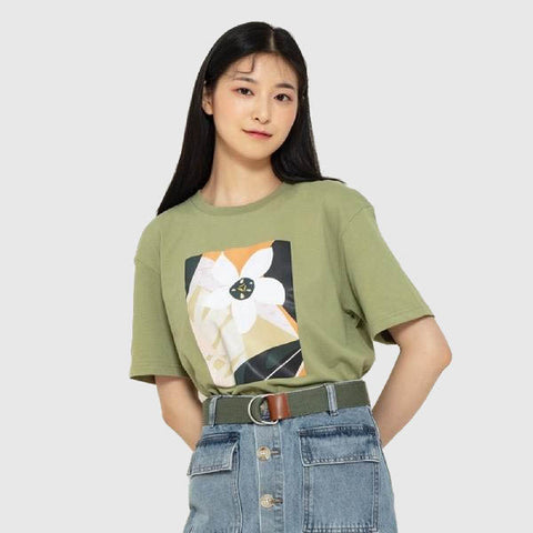 SPAO Woman Short Sleeve Regular Tee SPRP948S22