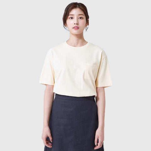 SPAO Women Short Sleeve Pocket Tee SPRWA24G18