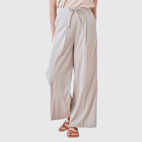 SPAO Women Wide Banding Pants SPTAA25G07