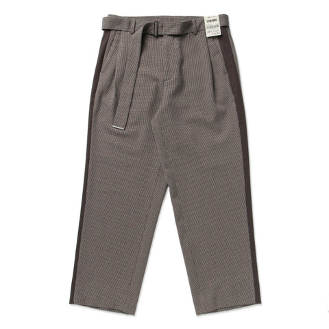 SPAO Men Check Belted Pants SPTC849M05