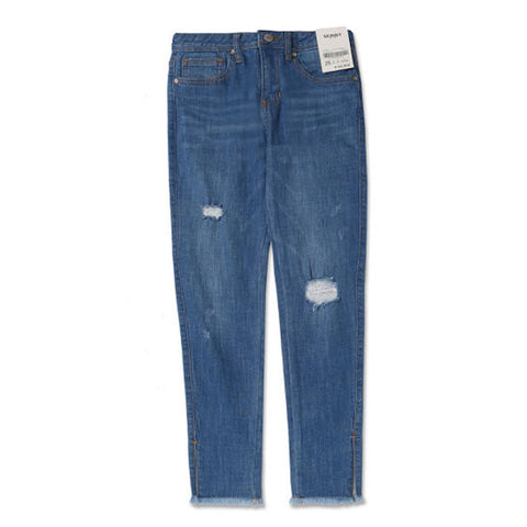 SPAO Women Destroy Skinny Denim Pants SPTJ823G23