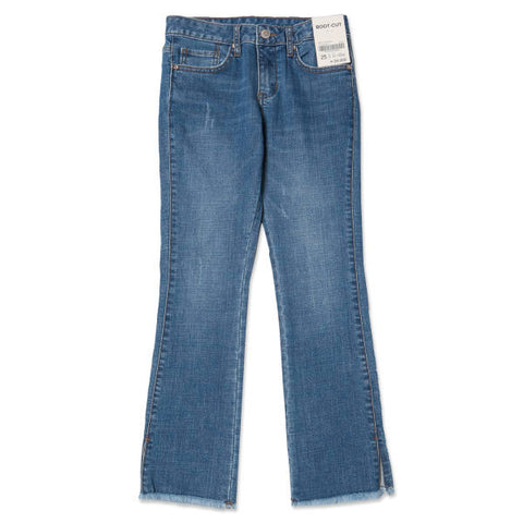 SPAO Women Boot Cut Denim Pants SPTJ823G53