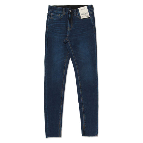 SPAO Women Banded Skinny Denim Pants SPTJ923G01