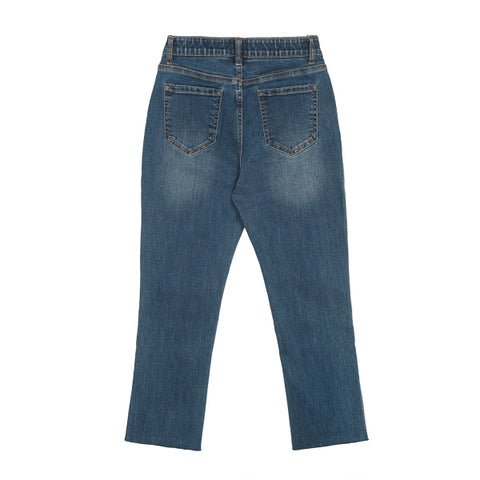 SPAO Women Slim Denim Pants SPTJA23G15