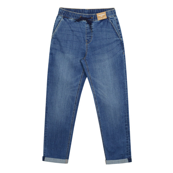 SPAO Men Banding Tapered Denim Pants SPTJA49C22