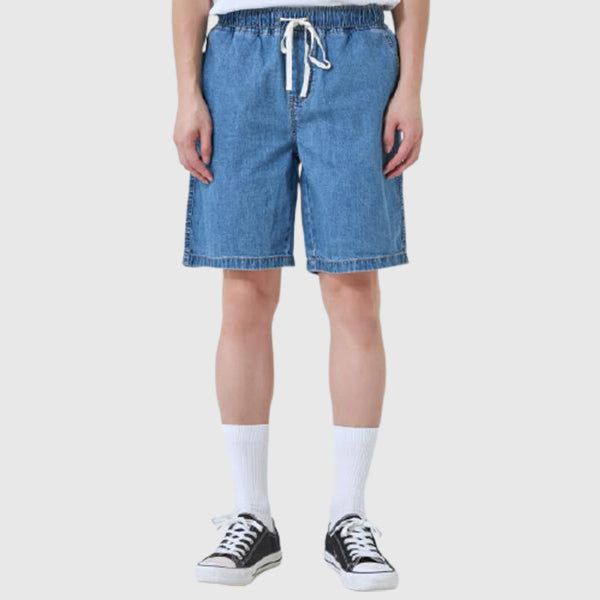 SPAO Men Cool Banding Denim Shorts SPTNA26C21