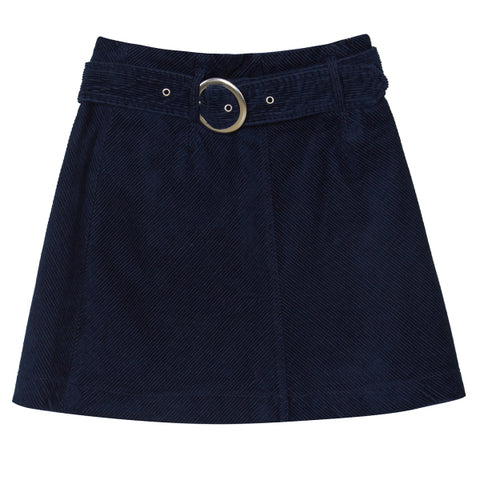 SPAO Women Belted Cordoroy Mini Skirt SPWH949G24