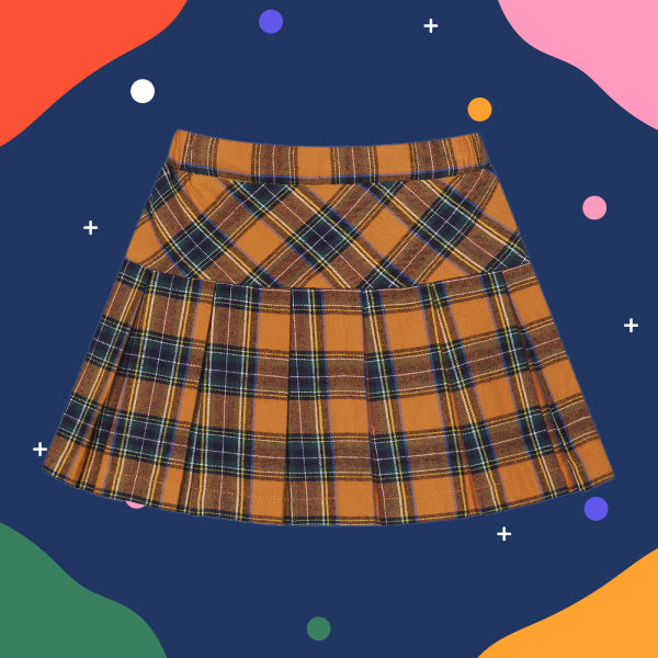 SPAO Kids Check Mini Skirt SPWHA48KG2