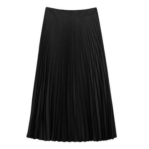 SPAO Women Accordion Pleated Long Skirt SPWHA49W02