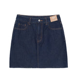 SPAO Women A-Line Mini Denim Skirt SPWJA23G01