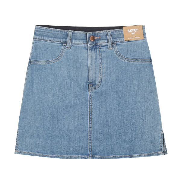 SPAO Women Mini Denim Skirt with Inner Pants SPWJA23G03