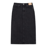 SPAO Women H-Line Long Denim Skirt SPWJA37G01