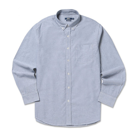 SPAO Men Long Sleeve Basic Oxford Solid Shirt SPYW738C01