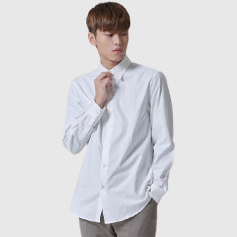 SPAO Man Long Sleeve Oxford Shirt SPYWA11M01