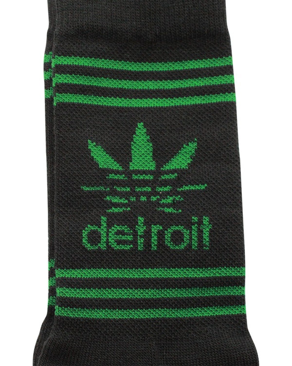 Ink Detroit Cannabis Crew Socks