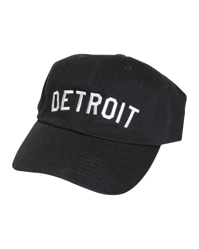 Ink Detroit Dad Cap - Black/White