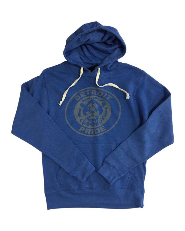 Ink Detroit Pride Hoodie - Royal Blue