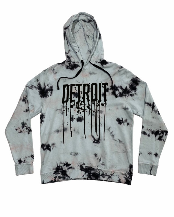 Ink Detroit Drip Tie Dye Hoodie - Limited Edition