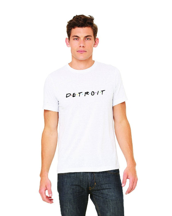 Ink Detroit Friends T-Shirt - White