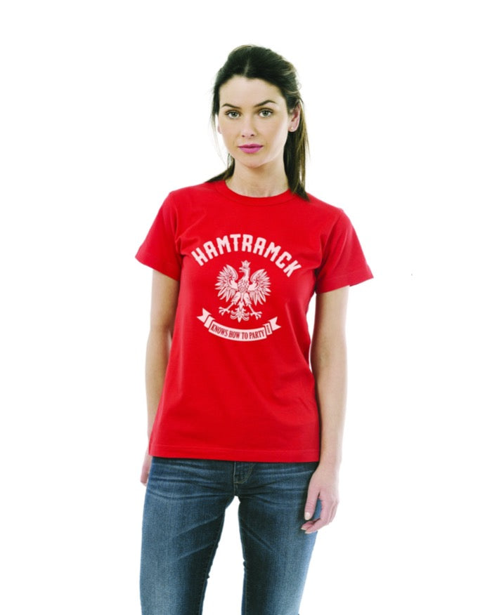 Ink Detroit Hamtramck Women's T-Shirt - Red