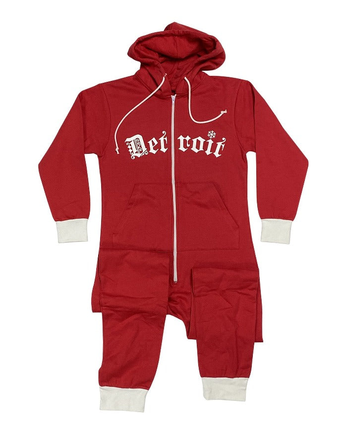 Ink Detroit It's So Cold In The D Adult Onesie
