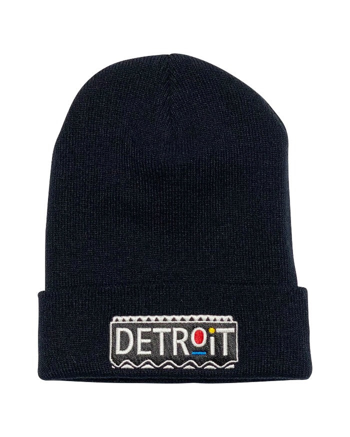 Ink Detroit Martin Beanie - Black