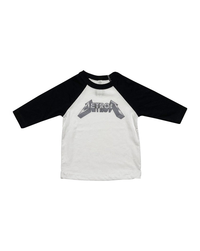Ink Detroit Metal Youth 3/4 Sleeve Baseball T-Shirt